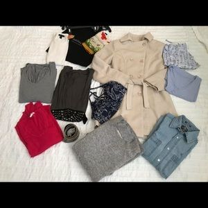 Lot of 17 items of women's clothes size S